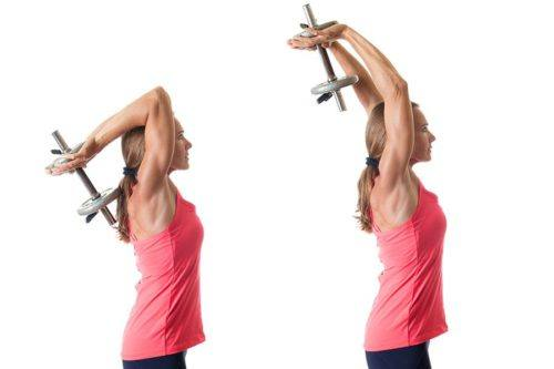 thuis triceps trainen